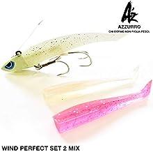 AZ ワインドパーフェクトセットIIMIX 5/8OZ夜光/MIX 太刀魚 タチウオ