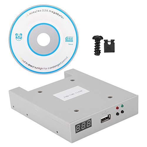Yeelur Diskettenlaufwerk-Emulator, tragbarer Disketten-Emulator für Heimwerker zur Wartung