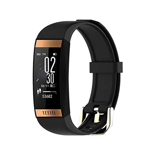 FZXL Smartwatch E78 Band IP68 IP68 Smartwatch Dynamic Heart Rate Passion Monitor De Presión Arterial, Adecuado para El Reloj De Salud De iOS Android Sports,E