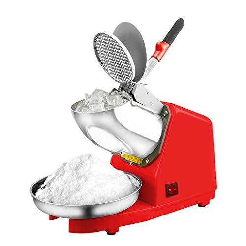 Broyeur à Glace Machine à Cône à Neige 300w, avec Double Lame Réglable, Outil De Broyeur à Glace pour Usage Commercial à Domicile, pour La Crème Glacée, Les Boissons Froides