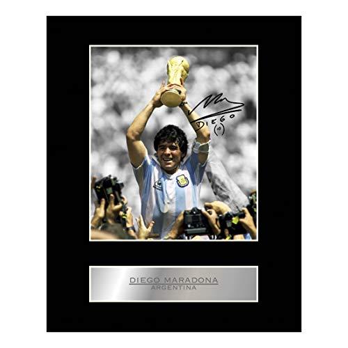 Iconic pics Diego Maradona Foto, signiert, Argentinien