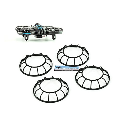 Ersatz Propellerschutz Set für JXD Invaders 515W Mini Drohnen Quadrocopter - Ersatzteile