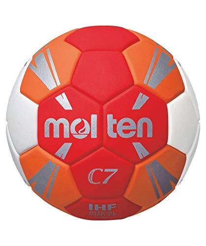 Molten C7 Trainingsball rot/orange/weiß/Silber 0