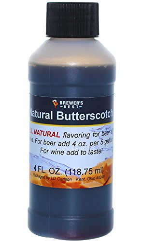 Brewer's Best Natural Beer and Wine Fruit Flavoring (Butterscotch)