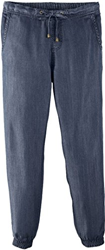 Golden Lutz ESMARA® Damen Haremshose (Blau Denim, Gr. 40)