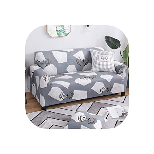 Leopard Pattern Universal Elastic Stretch Sofa Covers Living Room Couch Slipcovers Cases Spandex Furniture Protector Home Decor,13,Four seat Sofa