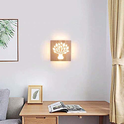 Luces de Pared Escandinavo Moderno Minimalista Dormitorio Noche Lámpara de Cama Lámpara de Pared Sala de Estar Registros 20 * 20Cm Luces de pared de hierro forjado Apliques