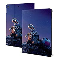 Wall-E ケースフィットiPad 7 th 10.2インチケース、オートスリープ/ウェイク超スリム軽量スタンドレザーケース