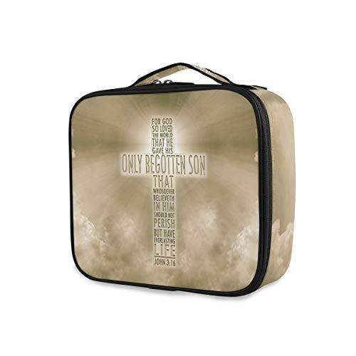 Sac à main de voyage Trousse de toilette Love Storage Portable Makeup Bag Tools Cosmetic Train Case