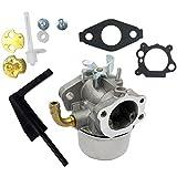 Vbaxy Nuevo 591299 Reemplazo del Kit de carburador de carburador para Briggs-Stratton Intek 121312-0144-E1 Cortacésped de césped carburador Piezas de carburador