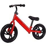 YI-LIGHT Equilibrio del Coche 2-6 años Ningún pie del Pedal Vespa Equilibrio niño Coche Rondas de ciclomotores de Dos niños (Color : Red)