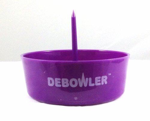 Debowler Plastic Ashtray- Purple