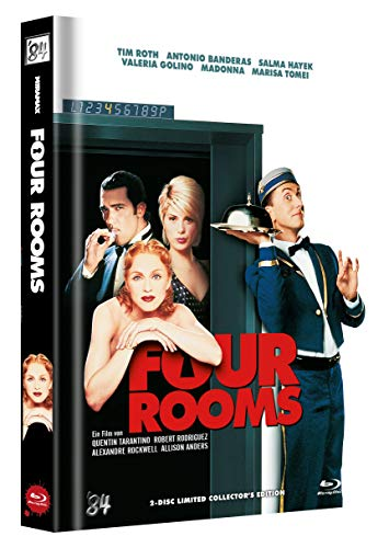 Four Rooms - 2-Disc Limited Collector's Edition Mediabook (Cover B) - limitiert auf 222 Stück
