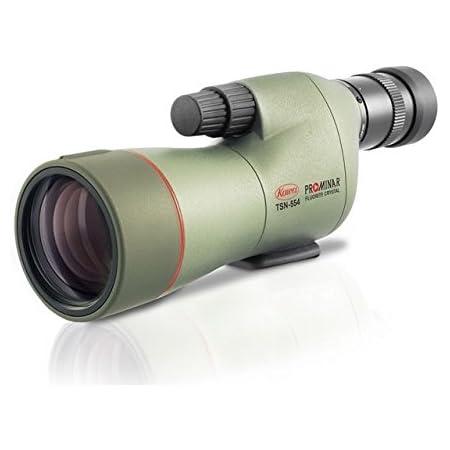 Amazon.com : Kowa TSN-554 55mm Prominar Pure Fluorite Straight Spotting  Scope w/ 15-45x Zoom Eyepiece, Green, : Sports & Outdoors