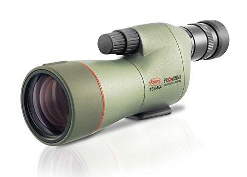 Kowa TSN-554 55mm Prominar Pure Fluorite Straight Spotting Scope w/ 15-45x Zoom Eyepiece, Green,