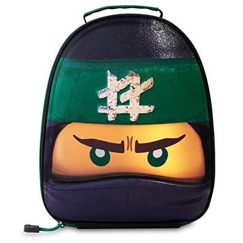 LEGO Lunch Bag for Kids, Ninjago Lloyd Boys Lunch Box, Small Insulated...