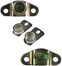 Tailgate Tail Gate Hinge Body Mounted (1 Bolt Style) Kit of 4 for Chevy GMC C/K