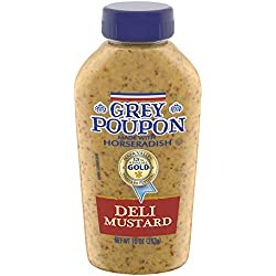 Grey Poupon Deli Dijon Mustard (10 oz Squeeze Bottle)