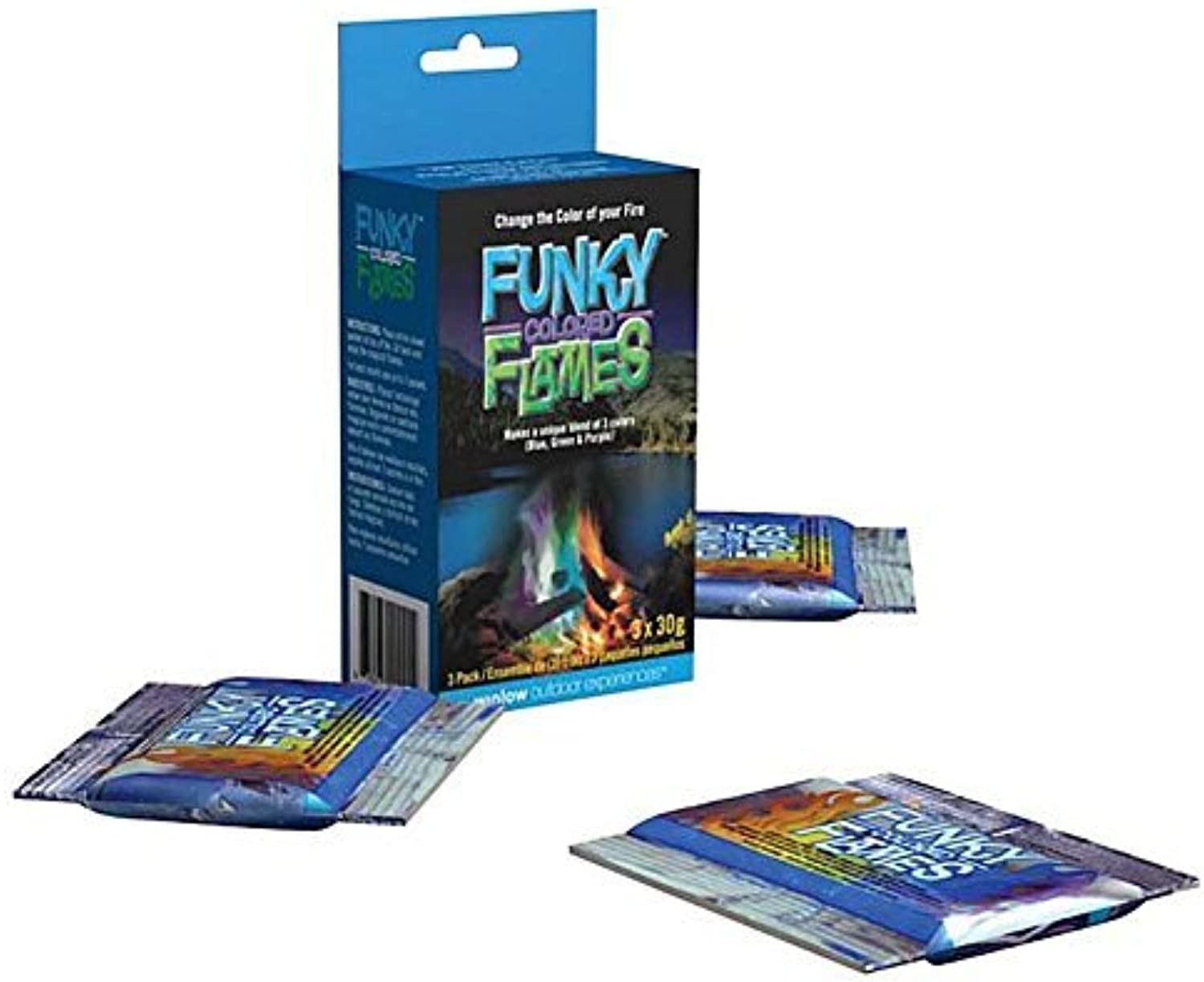 Funky Flames Fire color Changing Packets by Winlow
