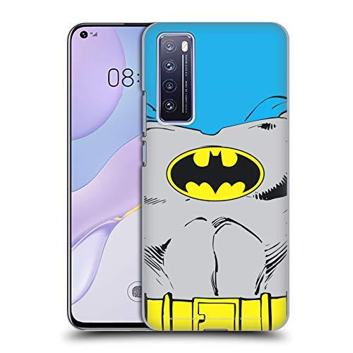 Head Case Designs Oficial Batman DC Comics Disfraz clsico Logotipos Carcasa rgida Compatible con Huawei Nova 7 5G