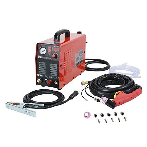 Nologo Arc Plasma Cutte, 50Amps DC-Luft-Plasma Cutter Plasma-Schneidemaschine Schnittstärke 14 mm Clean Cut