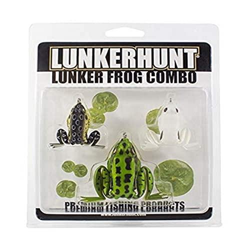Lunkerhunt Lunker Frog Combo - Assortment