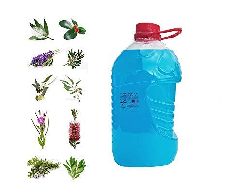 SPRAY ANTIVIRICO DESINFECTANTE GARRAFA PET 3L 100% NATURAL-10 Aceites Esenciales.Limpiador Hidroalcohólico 100% Eficaz. Piel, textil, Multisuperficie.