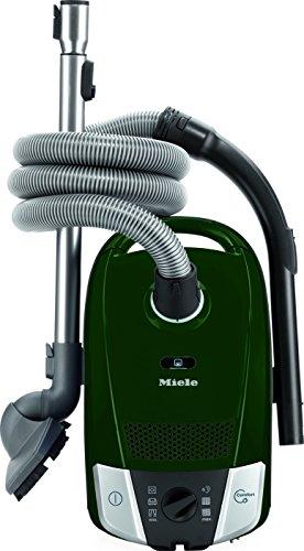 Miele Compact C2 Parquet PowerLine-Scopa da slitta con borsa compatto, 1,200 W, 75 dB