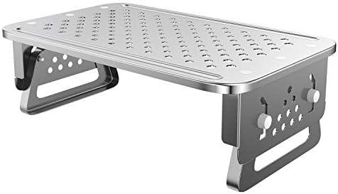 ATUMTEK Monitor Stand Riser Aircraft Grade Aluminium 3 Height Adjustable Metal Monitor Desk product image