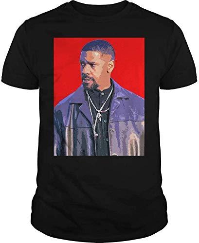 Best Lead Actor in A Play Nominees Denzel Washington Tshirt DMN t-Shirt Black