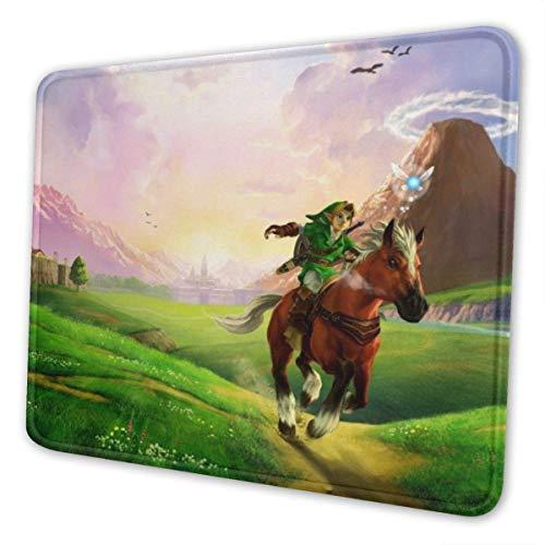 Alfombrilla Gaming, La leyenda de Zelda (3) alfombrilla de ratón con textura premium, gruesa antideslizante, antideslizante, antideslizante, resistente al agua, juego de computadora, alfombrilla de ra
