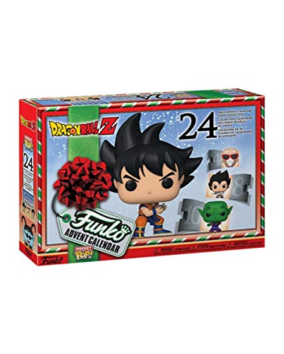 Horror-Shop Dragon Ball Z - Funko Pocket Pop Calendario De Adviento 2020