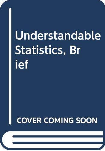 Understandable Statistics, Brief