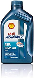 SHELL Advance AX7 Synthetic 10W30 4 Stroke Engine Oil 1000 ML