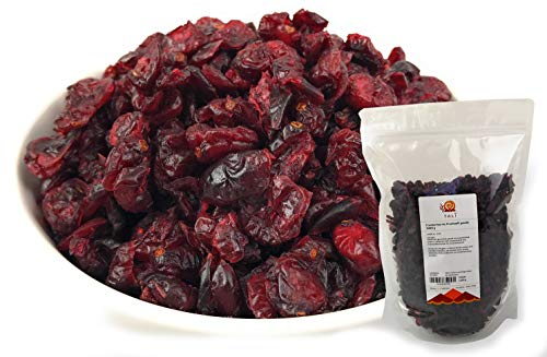 TALI Cranberries ohne Zucker - mit Fruchtsaft gesüßt 1000 g