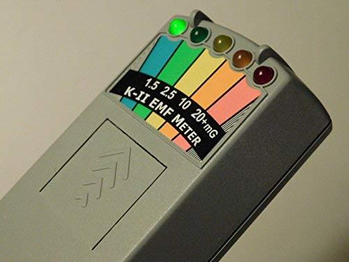 KII K-II-DELUX EMF-Messgerät mit Push-On / Push-Off-Schalter für die Geisterjagd