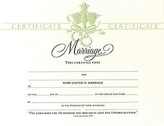 Best decorative wedding certificate Reviews