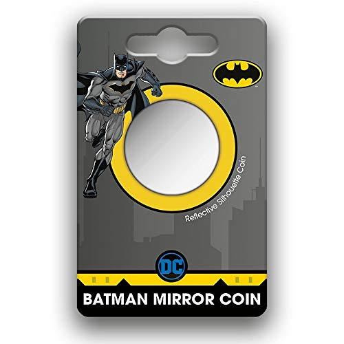 Royal Dutch Mint Medalla Espejo de colección Warner DC Comics Batman 80 años...