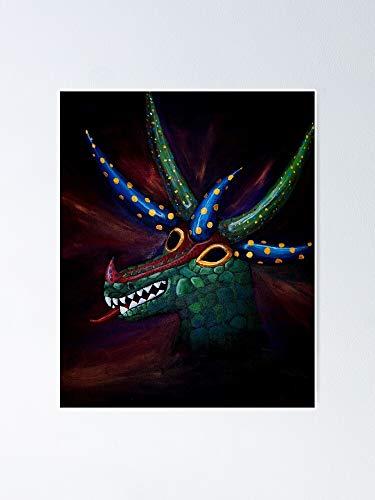 AZSTEEL Pster de El Vejigante 11.7 x 16.5