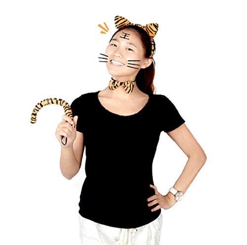 Inception Pro Infinite Kostüm - Verkleidung - Karneval - Halloween - Leopard - Jaguar - Tier - bunt - Ohren - Schwanz - Schmetterling - Erwachsene - Frau - Mädchen