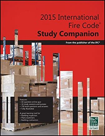 2015 International Fire Code Study Companion Paperback – 2015