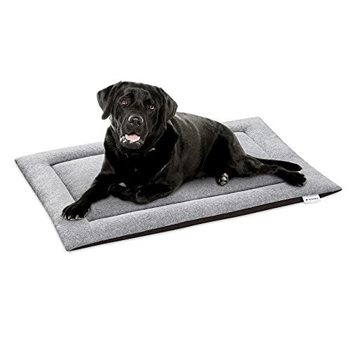 Navaris Cuscino Cane Gatto 63x40cm - Lettino Cuccia da Viaggio - Cuscinetto Copertina Imbottita Gatti e Cani Taglia Media Grande - Travel Dog Bed