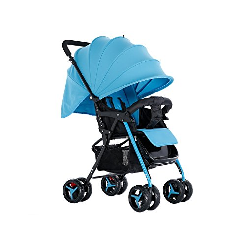 Sale!! QARYYQ Stroller Can Sit and Lie Down Newborn Baby Stroller Lightweight Trolley Car Children's...