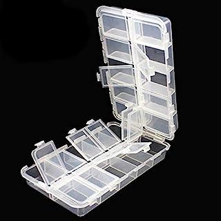 OriGlam Premium 20 fack tackellådor, tackla verktygslådor, plastlåda förvaringsbox med justerbara avdelare, förvaringsbox ...