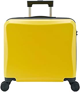 XMlgxzy 17-Inch Carry-On Lightweight Durable Hardshell 4-Wheel Spinner Cabin Luggage