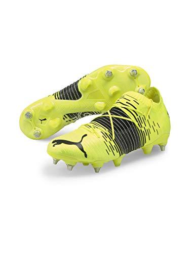 Puma Future Z 1.1 MXSG, Zapatillas de fútbol para Hombre, Yellow Alert Black White, 24 EU