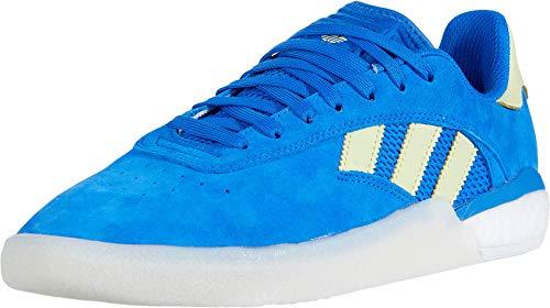 adidas Skateboarding 3ST.004 Glory Blue/Yellow Tint/Footwear White 9.5 D (M)