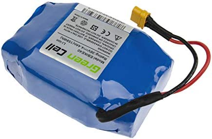 Green Cell® Batterie pour Hoverboard 36V 4.4Ah (159Wh) Li-ION Lithium BMS pour Moteur 250W Scooter Self-Balance Board Électrique Batterie avec Cellules Originales