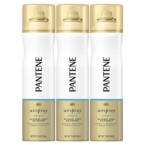 Pantene Hairspray, Smooth Finish, Pro-V Airspray, 7 fl oz, Triple Pack