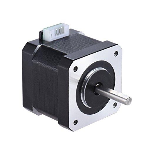 JoyNano Nema 17 motor paso a paso bipolar 1.7A 40N.cm Holding Torque 2-Phase 4-Wire 1.8 Deg 40mm cuerpo para impresora 3D o máquina CNC